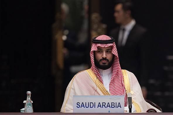 Saudi Arabia Crown Prince Mohammed bin Salman. (Photo by Nicolas Asfouri - Pool/Getty Images)