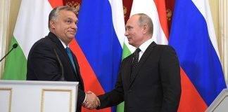 Întâlnire la Moscova între premierul Ungariei Viktor Orban și liderul Rusiei Vladimir Putin, septembrie 2018. Sursa: kremlin.ru