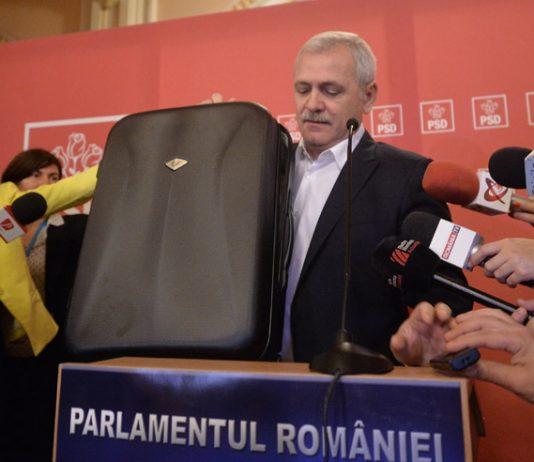 Liviu Dragnea Valiza Parlament