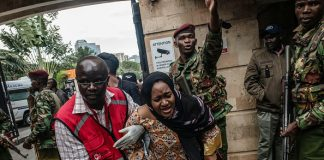 Attack Nairobi Kenya