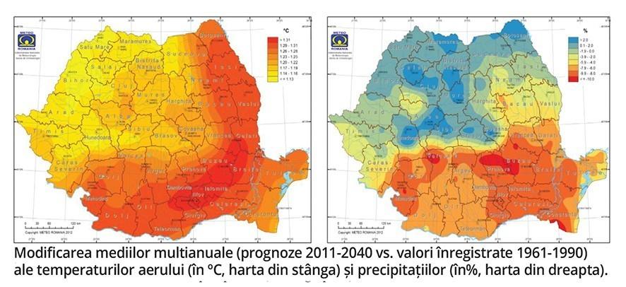 Clima Schimbă Lumea Două Hărți Elocvente Pentru Transformările