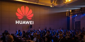 SHENZHEN, CHINA - APRIL 16: People attend the Huawei HAS2019 Global Analyst Summit on April 16, 2019 in Shenzhen, China. Huawei, the world's largest telecommunication equipment maker, said on Tuesday at an annual global conference in the city of Shenzhen, China, it had secured 40 commercial contracts and already shipped 70,000 fifth-generation (5G) base stations after the company's founder, Ren Zhengfei, told reporters on Monday that his company is willing to sell 5G chips and other silicon to Apple. The Chinese tech giant recently announced its annual profit rose 25% to 59.3 billion yuan ($8.7 billion) despite being at the center of global scrutiny while the United States continue to lead a campaign to block the Chinese telecommunications giant from building 5G networks in the Western world. (Photo by Billy H.C. Kwok/Getty Images)