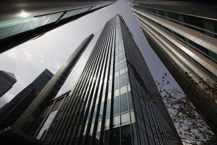 LONDON, ENGLAND - JUNE 28: The Canary Wharf headquarters of Barclays Bank, who have been fined 290 million GBP for manipulating the Libor inter-bank lending rate, on June 28, 2012 in London, England. British Prime Minister David Cameron has said the bank's management has