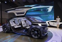 An Iconiq concept car sits on display during a media day of the Auto Shanghai 2019 motor show in Shanghai, China, 17 April 2019. The 18th Shanghai international automobile industry exhibition runs from 16 to 25 April. EPA/WU HONG