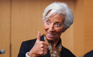 epa07669818 Christine Lagarde, Managing Director and Chairman of the International Monetary Fund, gestures during a press conference in Kuala Lumpur, Malaysia, 24 June 2019. Lagarde, who is in Malaysia for a two-day official visit, is scheduled to meet Prime Minister Mahathir Mohamad, Finance Minister Lim Guan Eng and Bank Negara governor Nor Shamsiah Mohd Yunus, among others. EPA/FAZRY ISMAIL