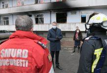 """5 persoane și-au pierdut viața după ce un incendiu a izbucnit pe 29 ianuarie la Institutul Național de Boli Infecțioase """"Prof. Dr. Matei Balș"""""""