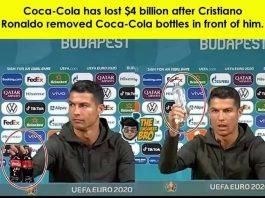 Ronaldo Coca-Cola presă
